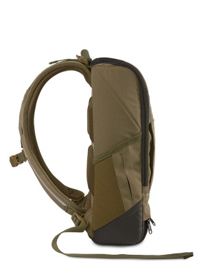 Cubik small backpack green 4 - invisable