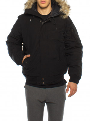 Annex down bomber jacket black 4 - invisable