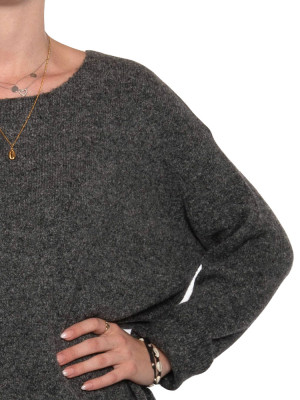 Mille pullover dk grey 4 - invisable