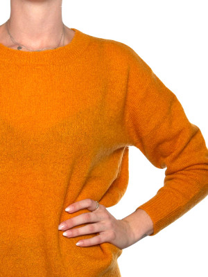 Femme pullover golden yellow 4 - invisable