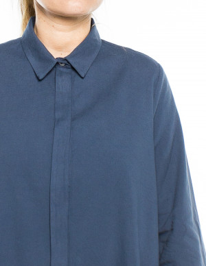 Nuria blouse navy 4 - invisable