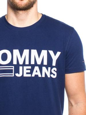 Basic print shirt blue 4 - invisable