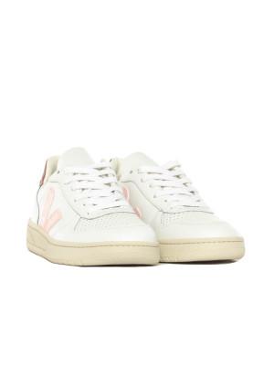 V10 leather sneaker white petal 4 - invisable