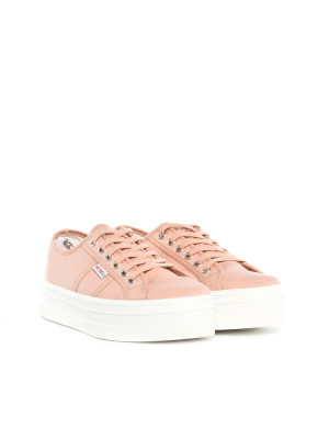Blucher lona shoes maquillaje rose 4 - invisable