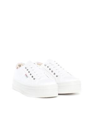 Blucher lona shoes blanco 4 - invisable
