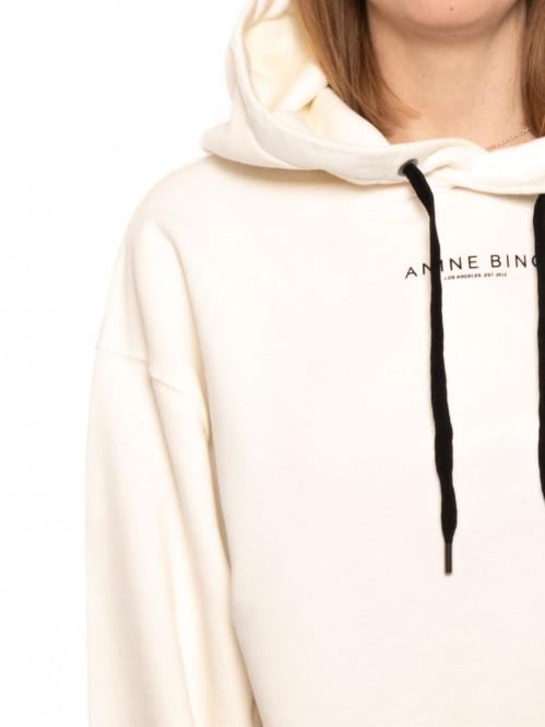 Jamie hoodie white