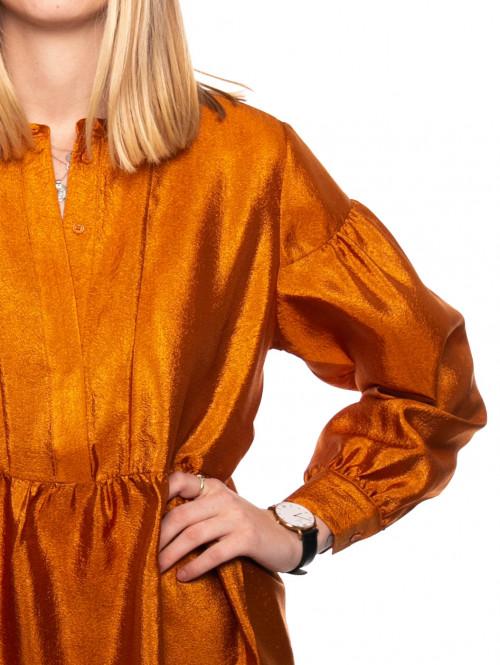Margo shirt dress honey ginger