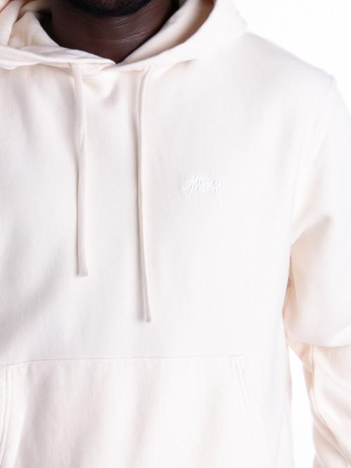 Stock logo hoodie oatmeal
