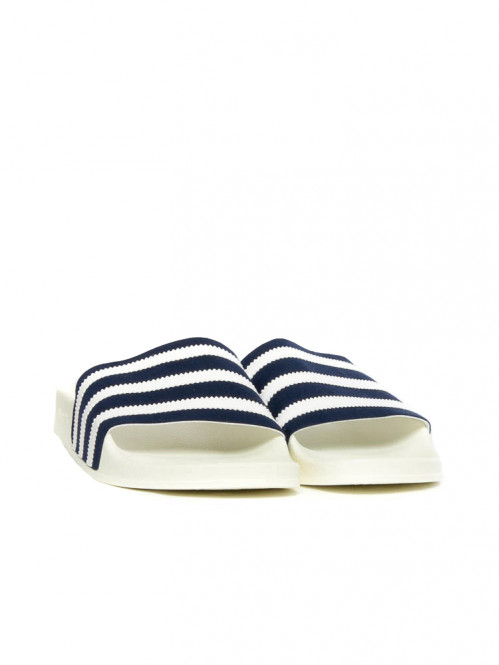 Adilette sandals leather navy