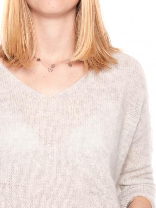 Vap pullover 240 gris perle