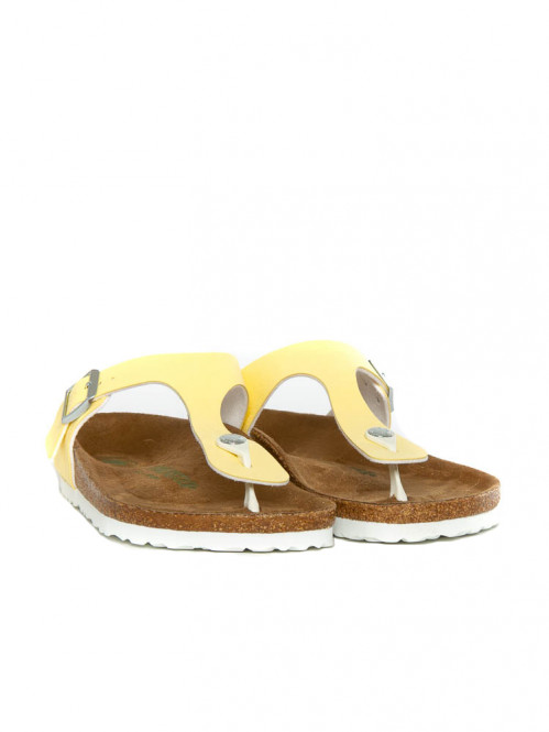 Gizeh sandals vegan brushed vanilla