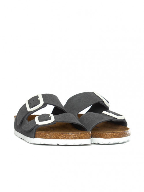 Arizona sandals suede gunmetal