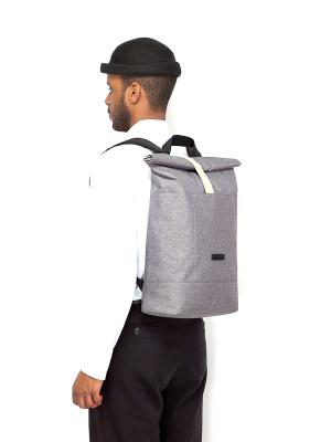 Hajo backpack grey 5 - invisable