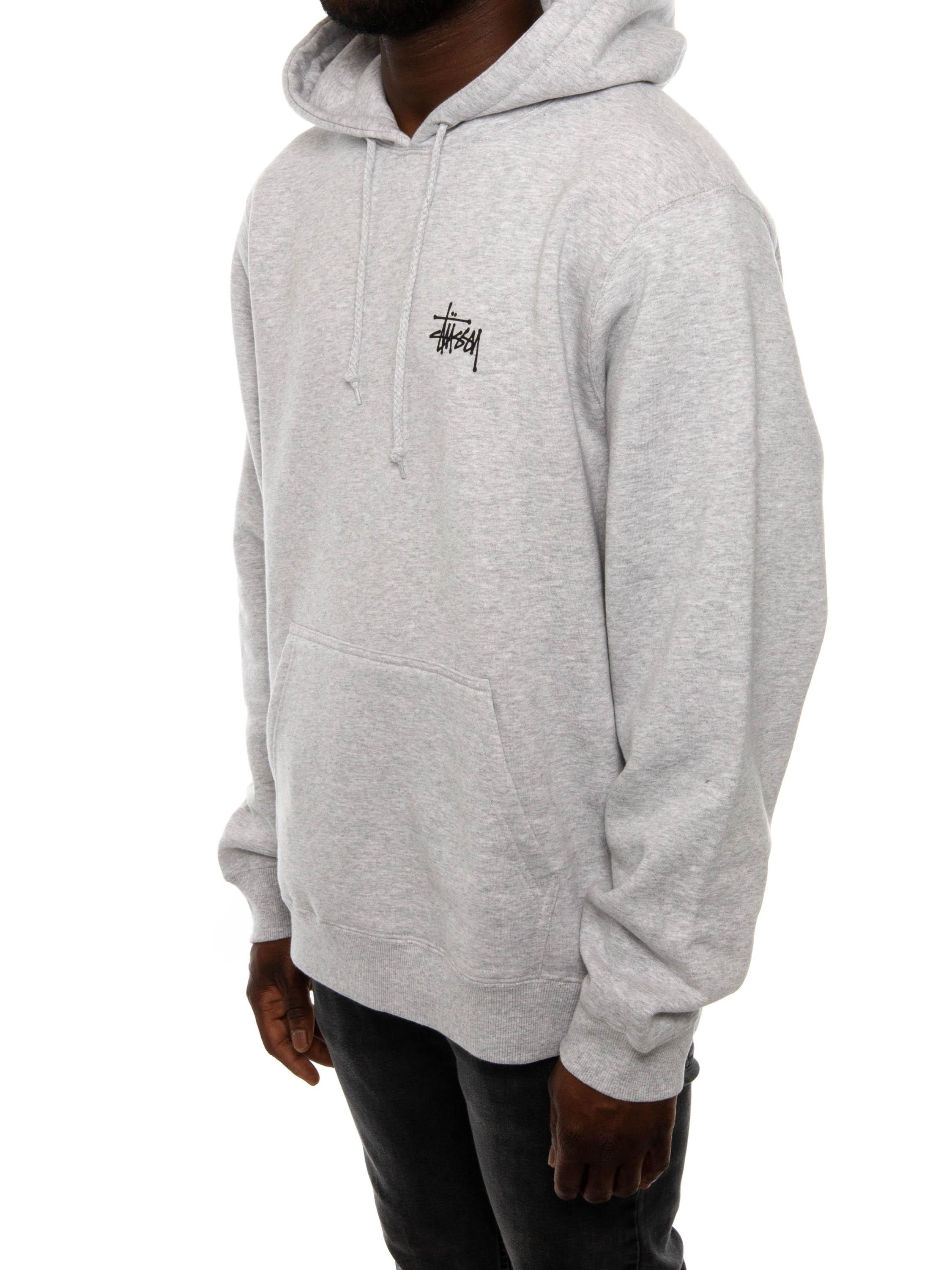 Basic stussy hoody black | Fashion online kaufen bei peoples place